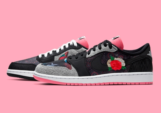 """Official Images of the Air Jordan 1 Low """"Chinese New Year"""""""
