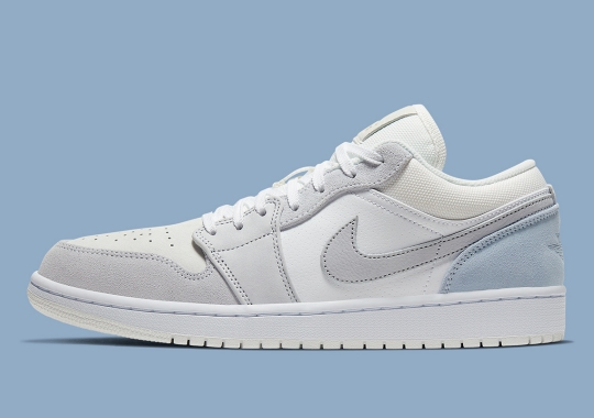 "The Air Jordan 1 Low ""Sky Grey"" Adds Soft Pastel Hues"