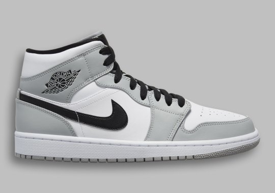 "The Air Jordan 1 Mid ""Light Smoke Grey"" Is The Prime Base For A Dior-Themed Custom"