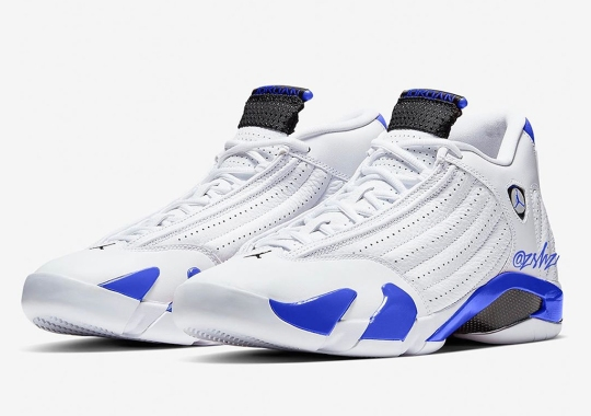 "Air Jordan 14 ""Royal"" Coming In September 2020"