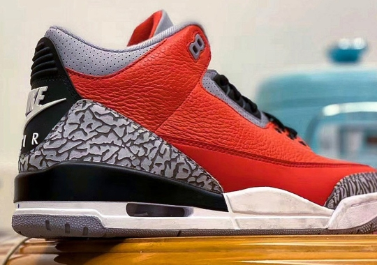 "An Air Jordan 3 Retro SE ""Fire Red"" Will Debut At All-Star Weekend"