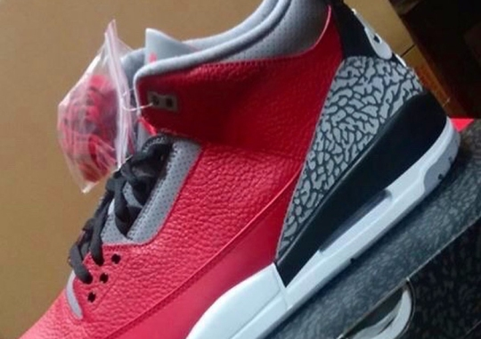 """An Air Jordan 3 Retro SE """"Fire Red"""" Will Debut At All-Star Weekend"""
