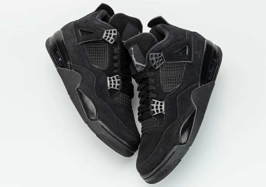 """Detailed Look At The Air Jordan 4 """"Black Cat"""" 2020 Retro"""
