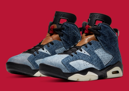 "The Air Jordan 6 ""Washed Denim"" Releases Tomorrow"