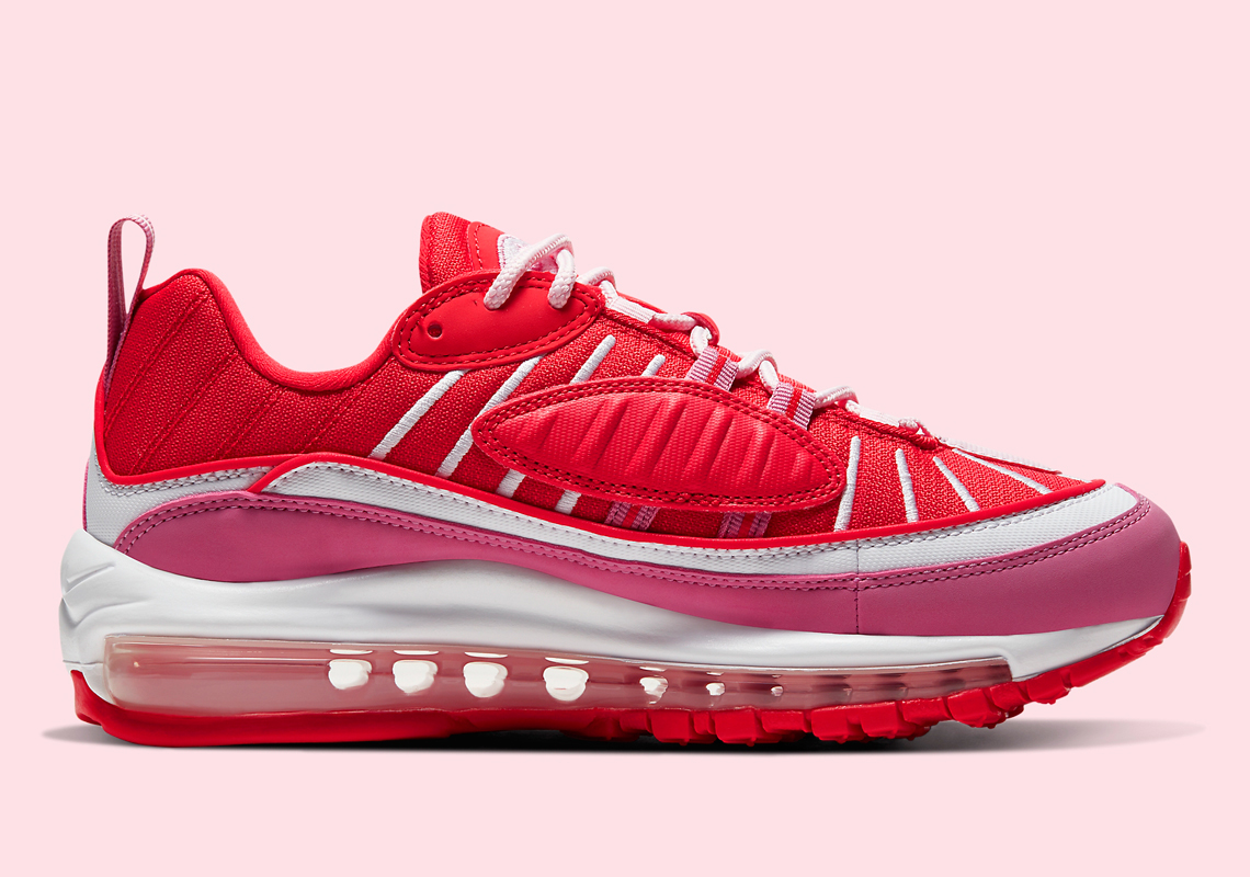 "Nike Air Max 98 ""Valentine's Day"" Brings The Lover Vibes: Official Photos"