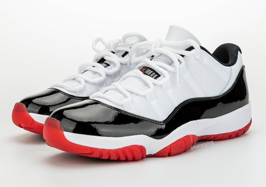 Concord Meets Bred In Upcoming Air Jordan 11 Low For April 2020