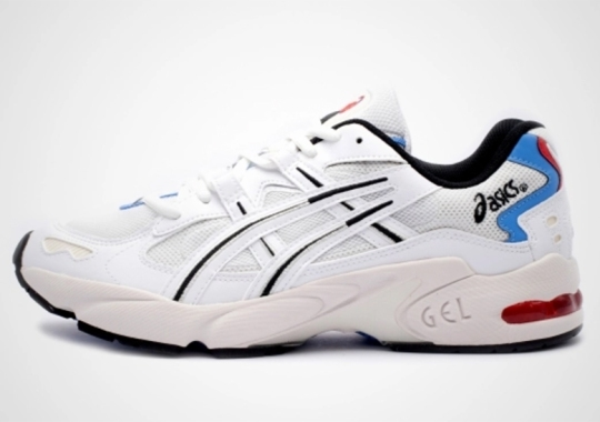 The ASICS GEL-Kayano 5 Is Back With A Clean White And Blue Mix