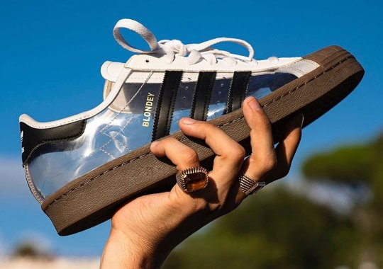 Blondey's Clear adidas Superstar Collaboration Releases This Week