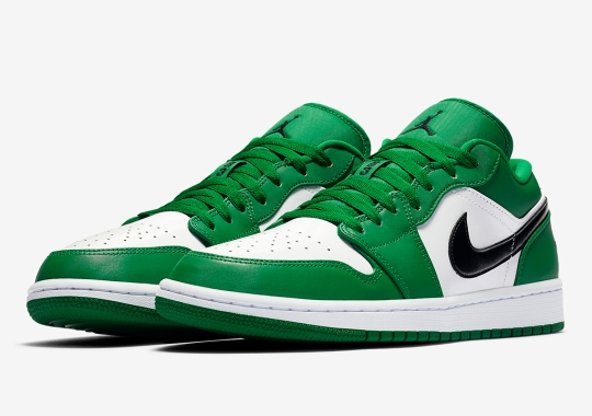 """Another Air Jordan 1 Low With A """"Pine Green"""" Palette"""