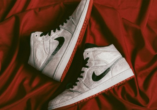 Where To Buy The CLOT x Air Jordan 1 Mid