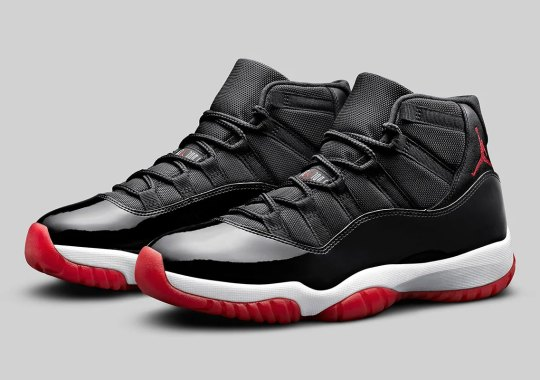 "The Air Jordan 11 ""Bred"" Is Ready For An Official Release"
