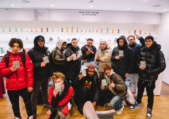 NY Jets Star Jamal Adams Pays For 11 Pairs Of Bred 11s At Extra Butter's Early Release