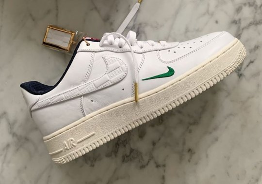 Another Look At The Upcoming KITH x Nike Air Force 1 Low