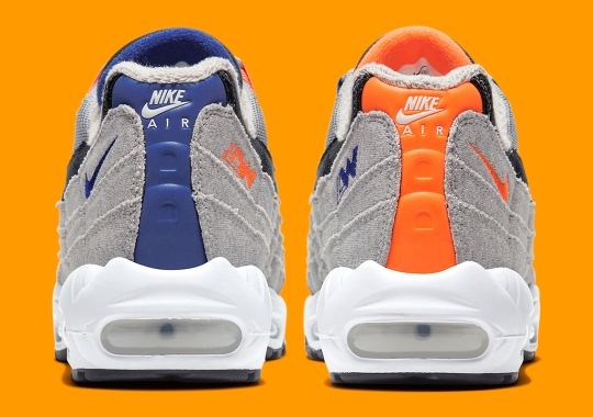 Official Images Of The Loopwheeler x Nike Air Max 95