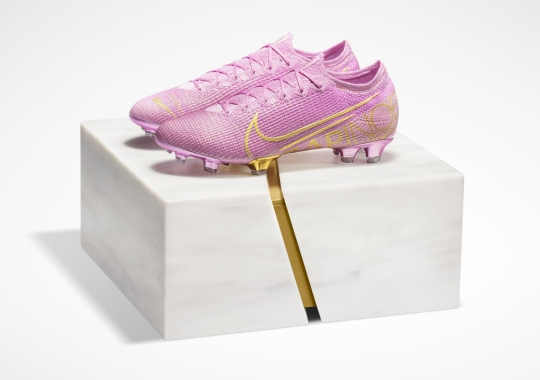 Nike Honors Megan Rapinoe's Ballon d'Or With Boots Inspired By Her Pink Hair