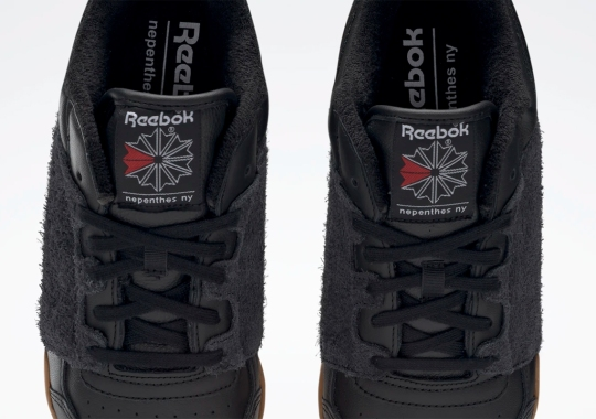 An Alternate Black/Gum Version Of Nepenthes NY's Reebok Workout Is Coming Soon