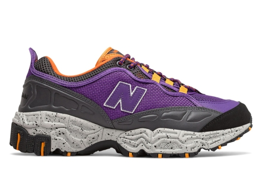 The New Balance 801 Gets a Trail-Friendly Purple And Orange Colorway
