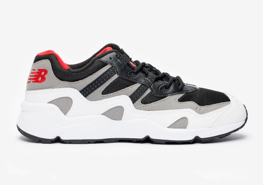The New Balance 850 Returns In Classic White, Red, And Black