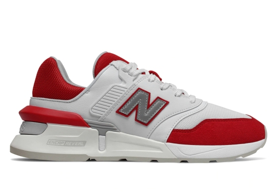 "The New Balance 997S Releases In A Classic ""Team Red"""