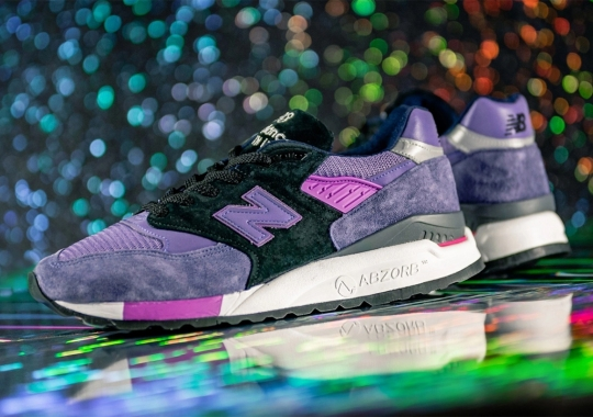 New Balance Continues Its Impressive Run of 998s With New Purple And Black Colorway