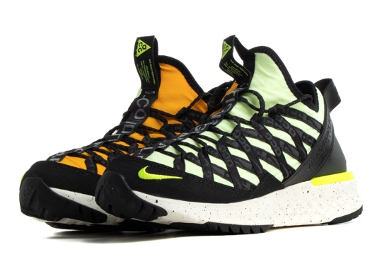 The Nike ACG React Terra Gobe Returns With Mismatched Neon Uppers