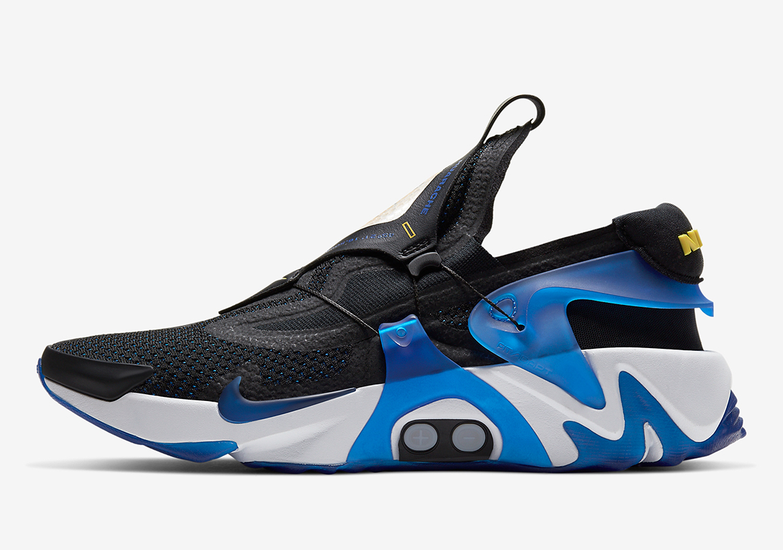 "Nike Adapt Huarache ""Black/ Racer Blue"""