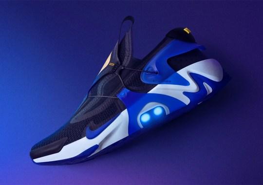 The Nike Adapt Huarache Set To Return In Black And Racer Blue