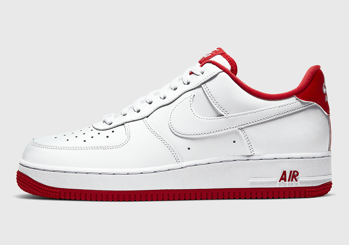 Nike Air Force 1 White Red CD0884 101 |