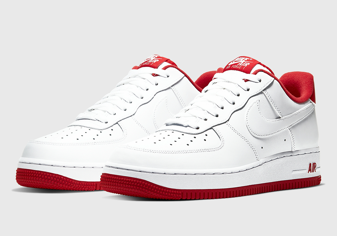 Nike Air Force 1 White Red CD0884-101