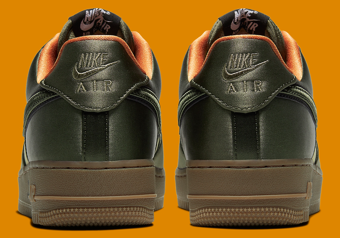 Nike Air Force 1 Low Gets Dressed In Flight Jacket Vibes: Official Photos