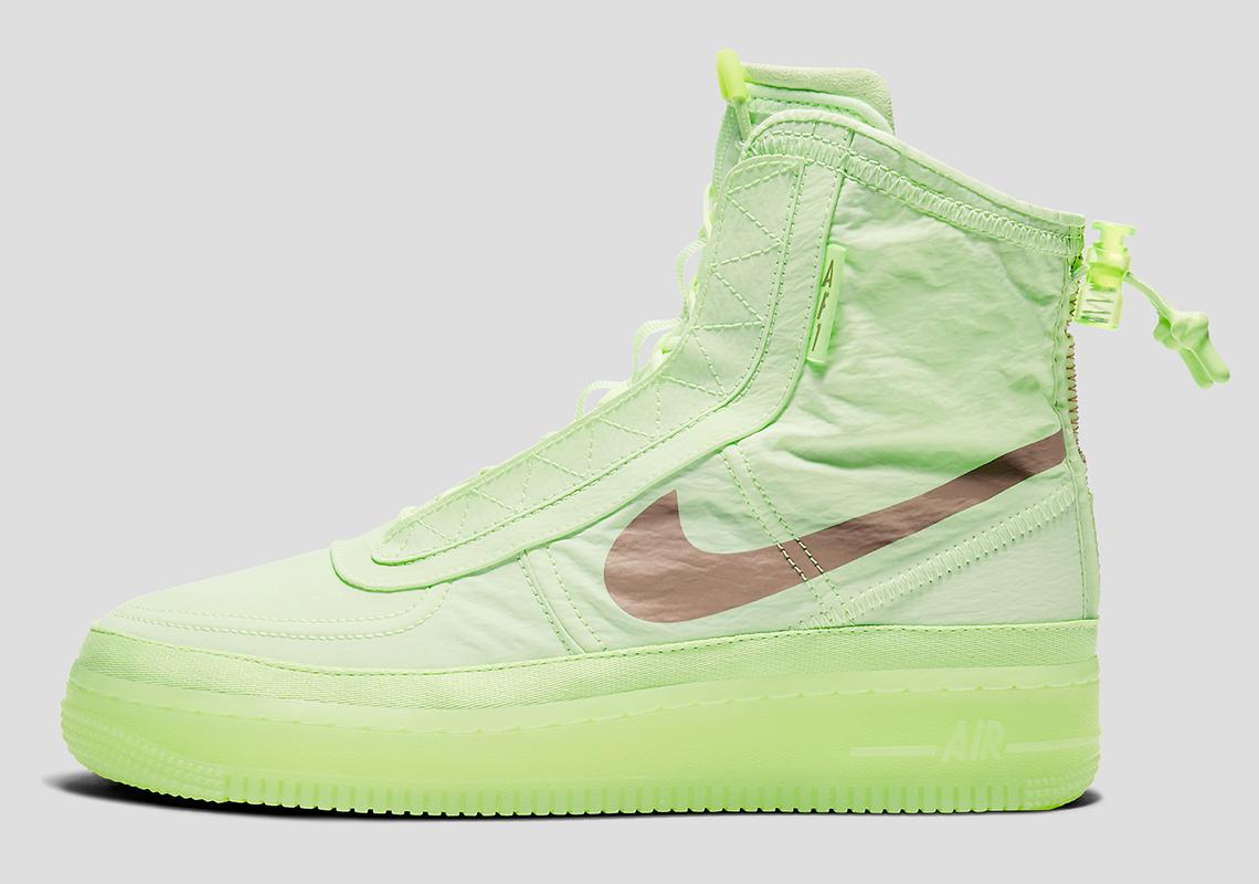 nike air force 1 high neon