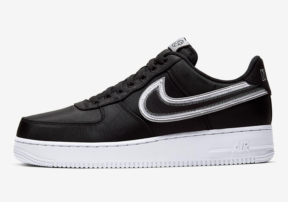Nike Air Force 1' 07 LV8 Hoops Black NBA Basketball Shoes 100%LEGIT CD0886 001 | eBay