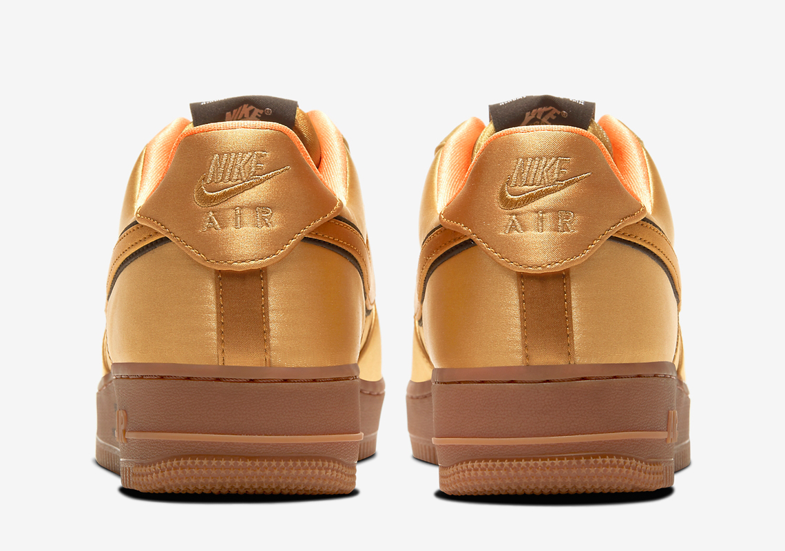 The Nike Air Force 1 Goes For A Golden Flight Jacket