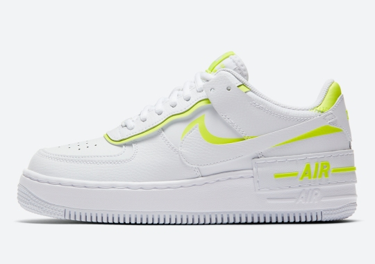 Nike Delivers A New Air Force 1 Shadow With Volt Accents