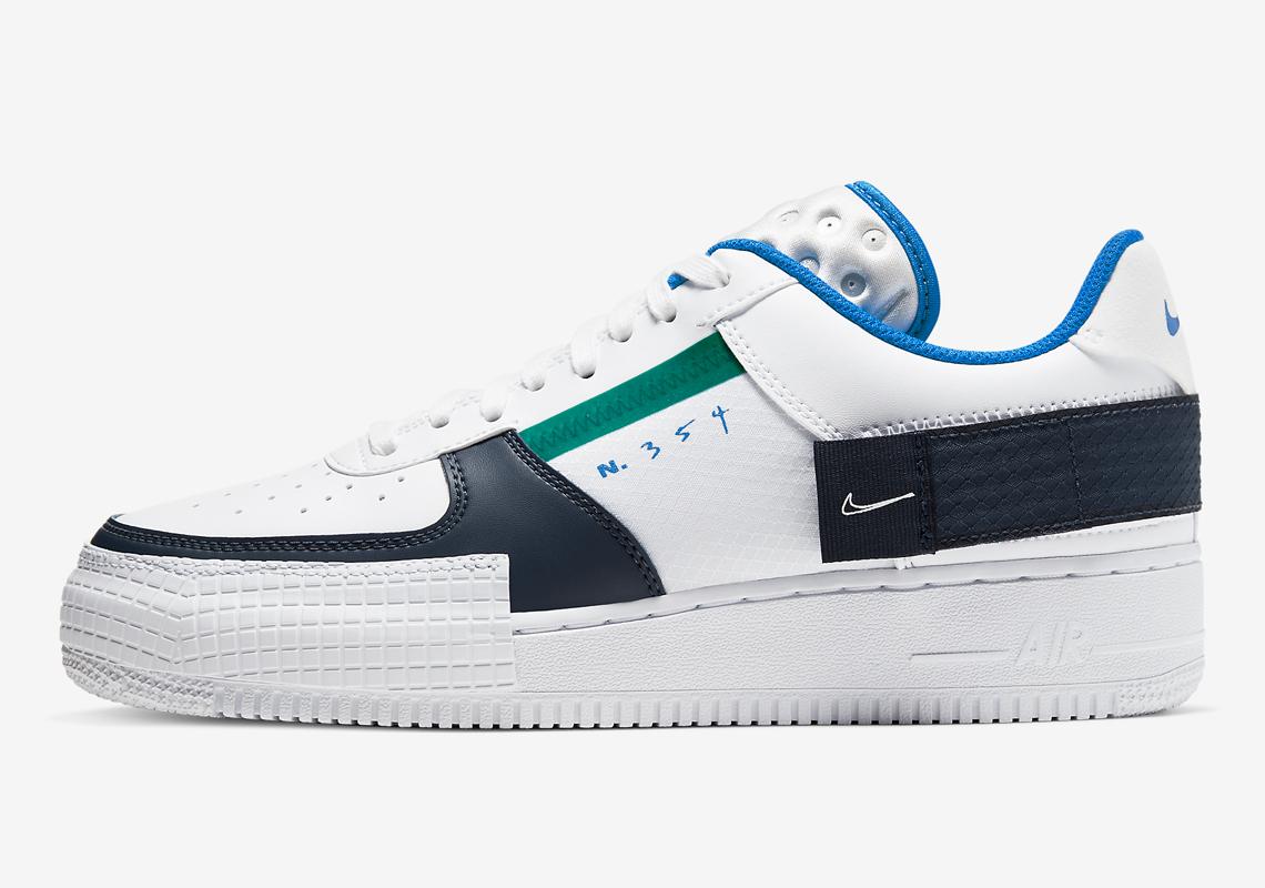 Twee nieuwe colorways van Nike's Air Force 1 Type zien