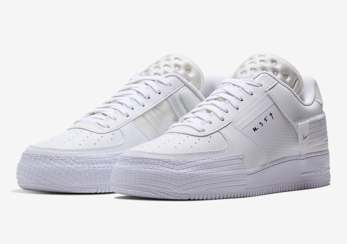 Nike Air Force 1 Type White CQ2344-101 | SneakerNews.com