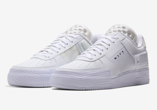 Nike Adds Timeless White-On-White To The Modernized AF1 Type