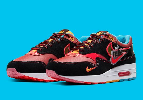 "The Nike Air Max 1 ""Chinese New Year"" Honors The Winged Horse"