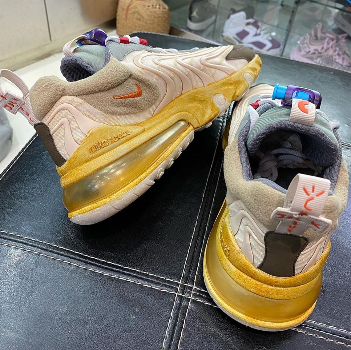 Nike Travis Max CT2864 Air React 200 270 Scott Cactus Jack WD9H2IYE