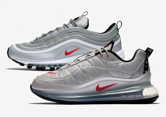 """The Nike Air MX 720-818 Borrows The """"Silver Bullet"""" Look"""