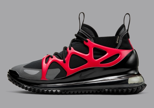 The Nike Air Max 720 Horizon Gets A Bold Black And Red Update