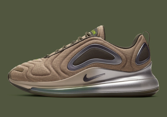 The Nike Air Max 720 Appears With Military Themes