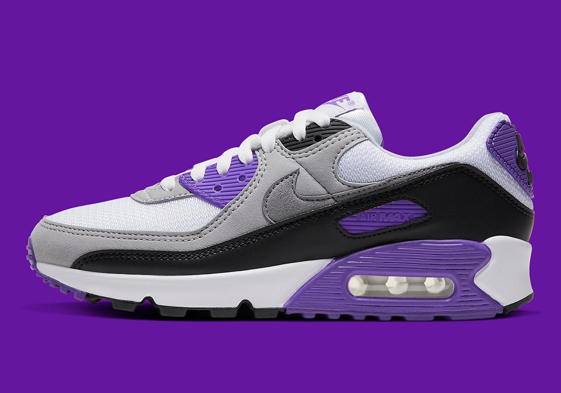 air max 90 noir et violet