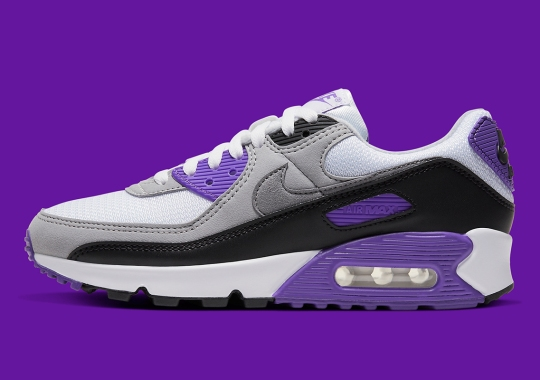 "The Nike Air Max 90 ""Hyper Grape"" Is Releasing Soon"