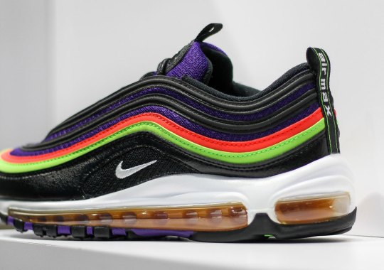 Nike Adds Neon Hits Of Purple, Orange, And Green On Latest Air Max 97