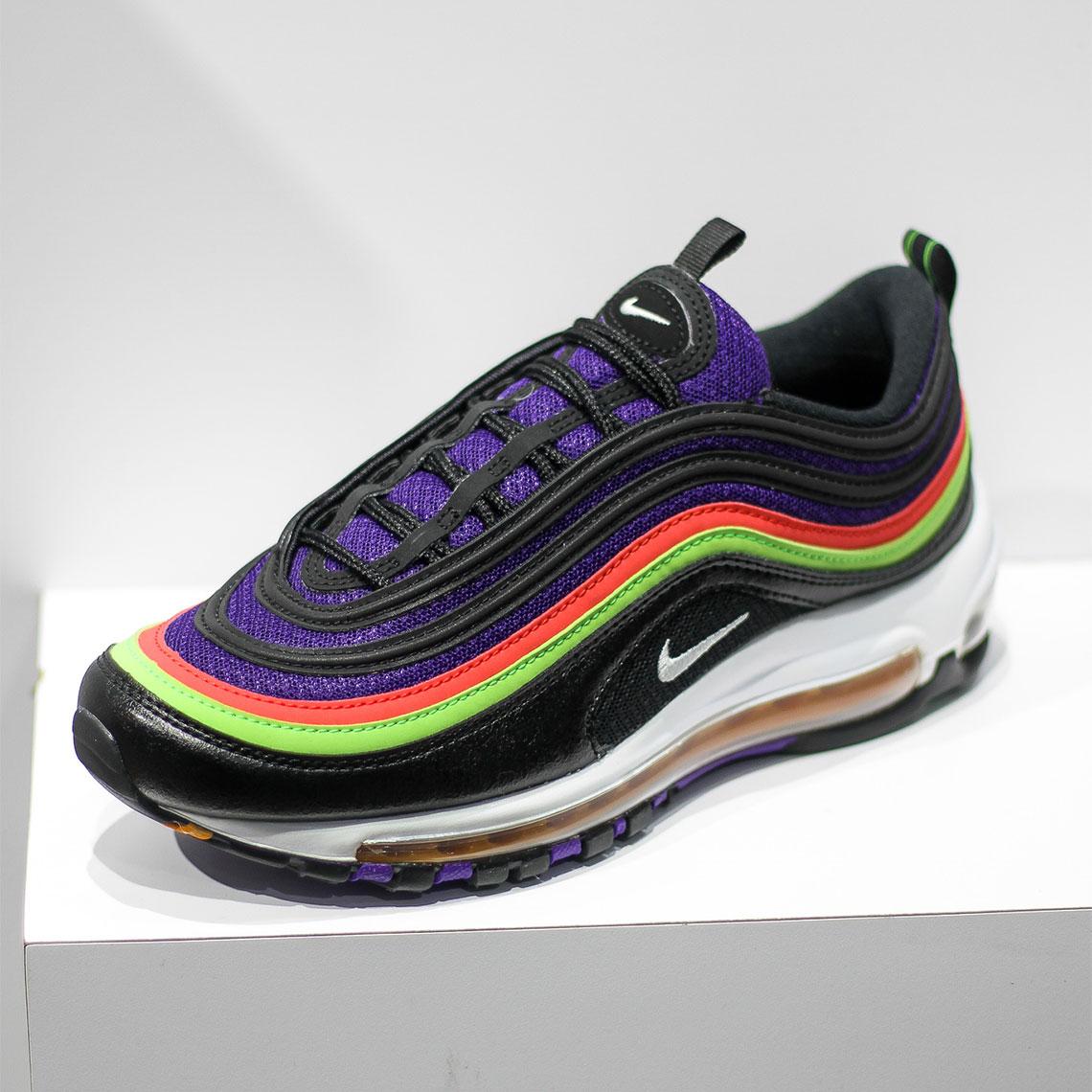 Nike Air Max 97 Black Purple Cu4890 001 Sneakernews Com