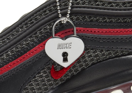 Nike Adds A Heart Locket On This Upcoming Air Max 97