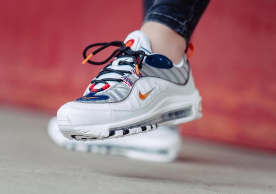 "Nike Brings ""Starfish"" Orange To This Futuristic Twist On The Air Max 98"