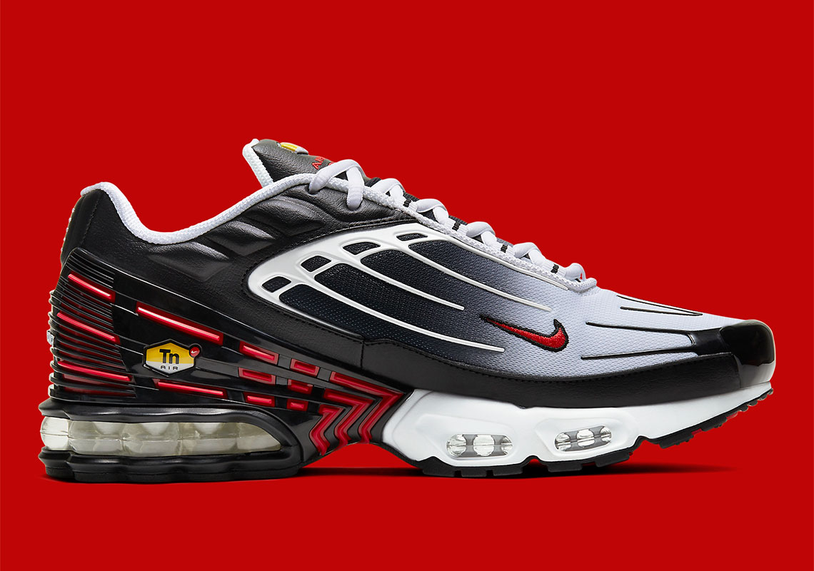 Nike Air Max Plus 3 Black Red CD7005 004 Release Info