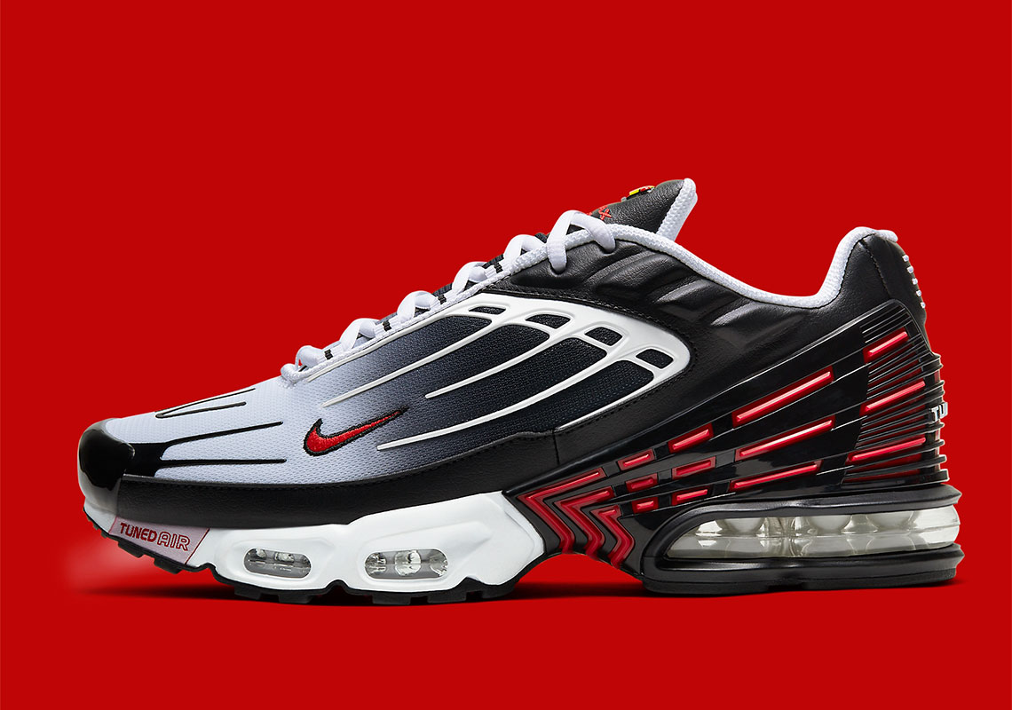 Nike Air Max Plus 3 Black Red Cd7005 004 Release Info